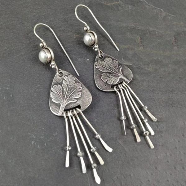 bohemia, Antique, Fashion, Pearl Earrings