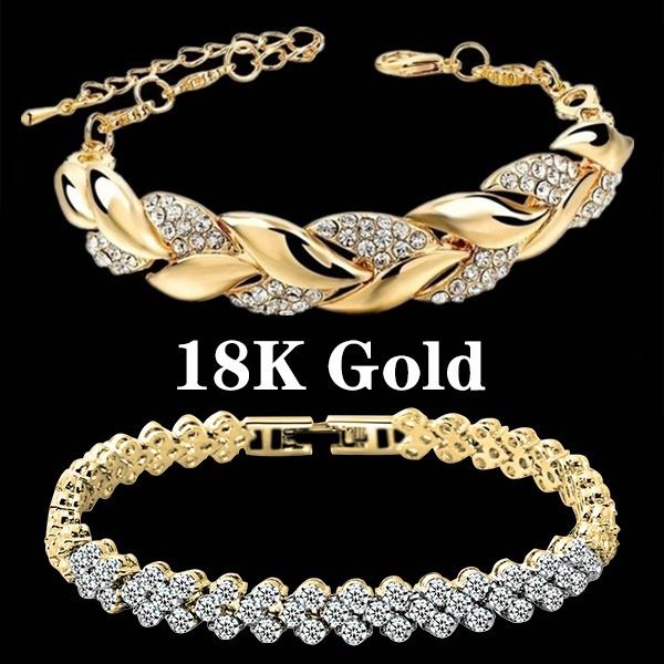 Sterling, Charm Bracelet, Fashion, Rose