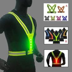 Vest, Adjustable, led, Cycling