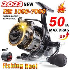 fishinglinewheel, spinningreel, Metal, huntingfishing