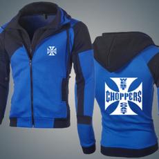 doublezippertracksuit, track suit, menstreetwearcoat, chopper