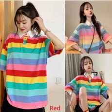women pullover, Fashion, rainbowtshirt, womentee
