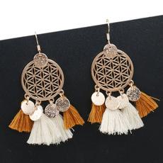 Tassels, Weaving, Jewelry, wedding earrings