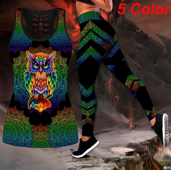 Summer, Vest, pants, owltanktop