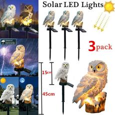 Owl, Outdoor, led, yardlight