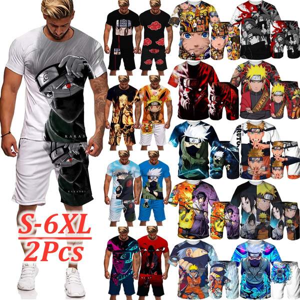Summer, Fashion, Shirt, narutoanime