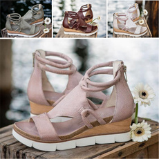 Sandals, Ladies Fashion, leather, summer shoes