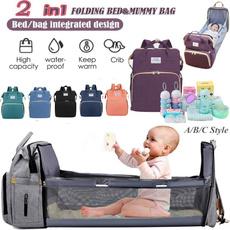 Backpacks, Capacity, Waterproof, baby bags
