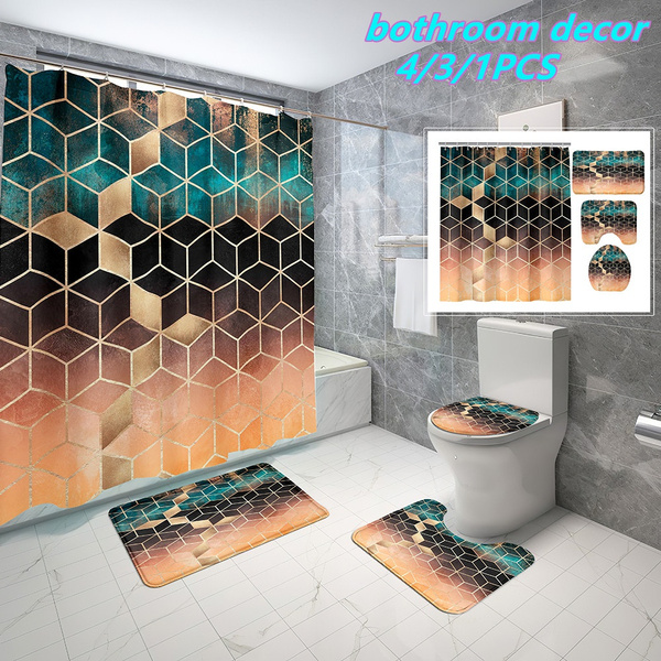 Bath, Bathroom, 3dshowercurtain, Cover