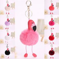 flamingo, fur, Jewelry, Cars