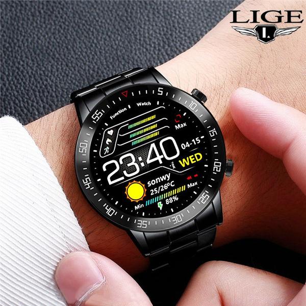 Heart, Touch Screen, business watch, Fitness
