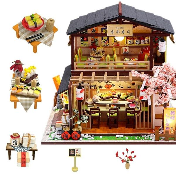 Toy, led, Wooden, Handmade
