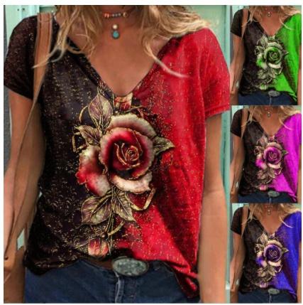 Summer, Fashion, Women's Casual Tops, tiktokshirt
