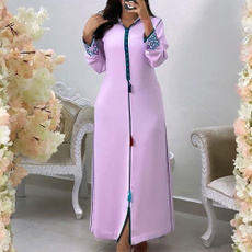 muslimmaxidres, hooded, sleeve dress, muslimdres