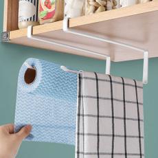 Bathroom, Towels, Iron, papertowelrack