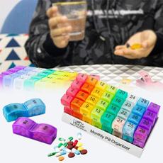 case, Box, pillholder, Tablets