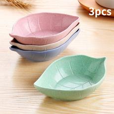 seasoningplate, Kitchen & Dining, Ceramic, leaf