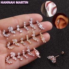 piercedearring, Women, Stainless Steel, Jewelry