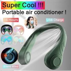 Mini, neckfan, portable, Sports & Outdoors