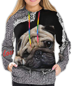 cute, crewnecksweatshirtwomen, sweaters for women, Pets