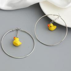 yellowduck, Hoop Earring, Jewelry, Mushroom