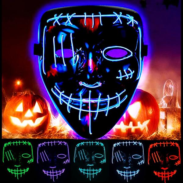 Cosplay, Masks, glowmask, Masquerade