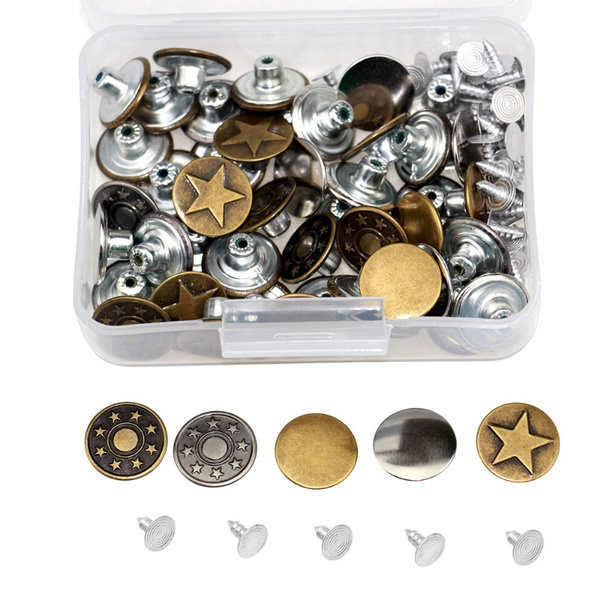 Clothing & Accessories, buttonspant, pantsbutton, Metal