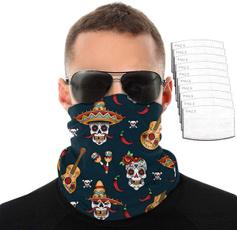 neckscarf, coolingneckscarf, Necks, skull
