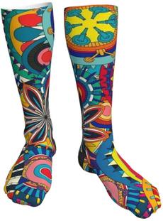 boatsock, Cotton Socks, Floral, Anklets