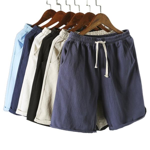 Summer, Shorts, Waist, drawstringshort