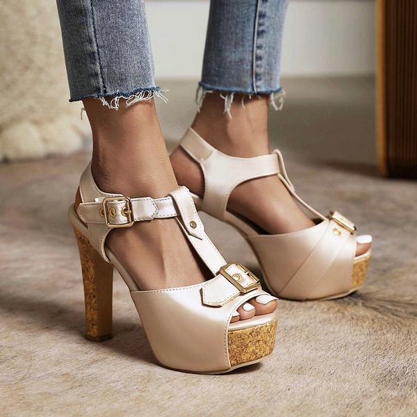 Summer, Sandals, Platform Shoes, summersandal