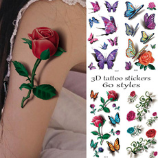 tattoo, Plants, Concealer, waterprooftattoosticker
