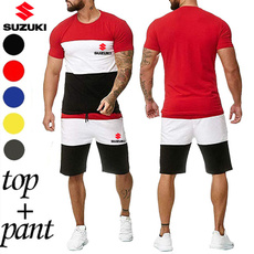 Summer, suzukiprinted, Plus Size, Sleeve