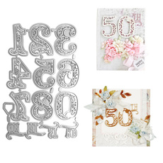alphabetletter, Scrapbooking, Lace, arabicnumeral