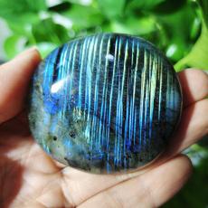 Home & Kitchen, bluelabradoritepalmstone, polished, labradoritestone