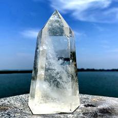 crystalpoint, clearwhitecrystal, crystalwand, Fashion