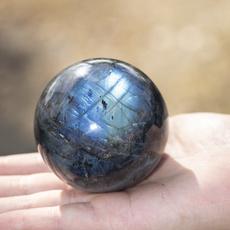 Decor, quartz, Home Decor, labradoritecrystalball