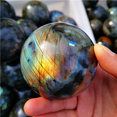 quartz, labradoritecrystalball, crystalcollection, crystalball