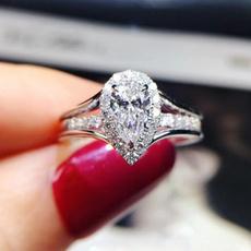 Couple Rings, Sterling, DIAMOND, Jewelry