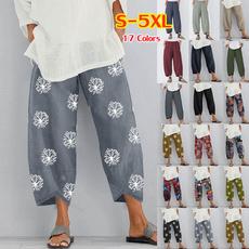 summertrouser, Women Pants, harem, Fashion