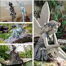gardenpatio, Decor, ornamentsstatue, Garden