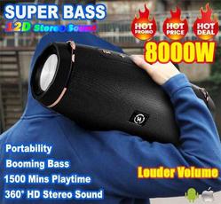 Box, Stereo, Exterior, Wireless Speakers