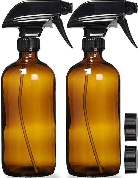 emptyspraybottle, clearspraybottle, amberspraybottle, Glass