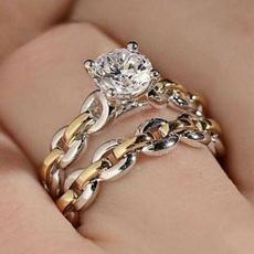 DIAMOND, Jewelry, gold, white
