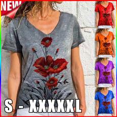 Fashion, Women Blouse, printed shirts, womens top