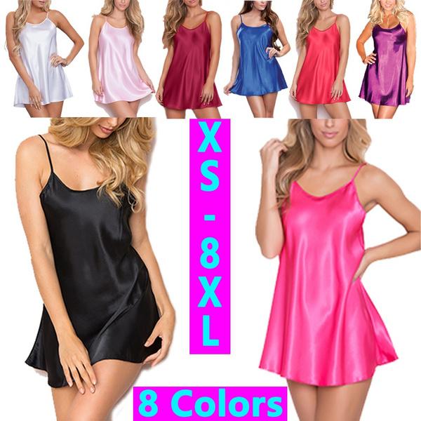 ladiesnightdresse, Plus Size, Halter, sexy pajamas