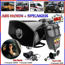 policealarm, electronichorn, Speaker Systems, Cars