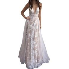 gowns, wedding dress, Spaghetti, Necks