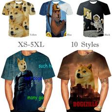 Fashion, Shirt, men's fashion T-shirt, doge
