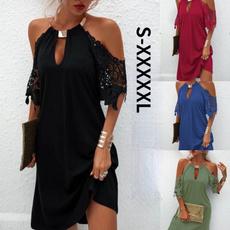 Mini, dressesforwomen, halter dress, Halter